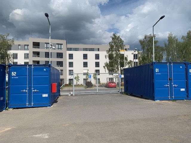 Samoobslužné skladovací kontejnery
